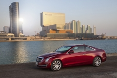 2015 Cadillac ATS Coupe Exterior in Abu Dhabi 002