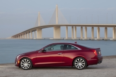 2015 Cadillac ATS Coupe Exterior in Abu Dhabi 003