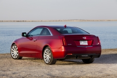 2015 Cadillac ATS Coupe Exterior in Abu Dhabi 004