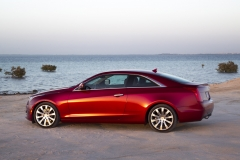 2015 Cadillac ATS Coupe Exterior in Abu Dhabi 007