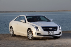 2015 Cadillac ATS Coupe Exterior in Abu Dhabi 009