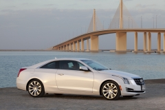 2015 Cadillac ATS Coupe Exterior in Abu Dhabi 010