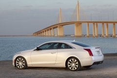 2015 Cadillac ATS Coupe Exterior in Abu Dhabi 011