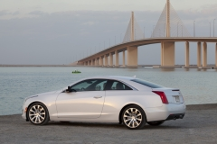 2015 Cadillac ATS Coupe Exterior in Abu Dhabi 012