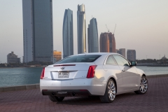 2015 Cadillac ATS Coupe Exterior in Abu Dhabi 013