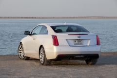2015 Cadillac ATS Coupe Exterior in Abu Dhabi 014