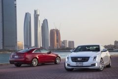 2015 Cadillac ATS Coupe Exterior in Abu Dhabi 015