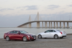 2015 Cadillac ATS Coupe Exterior in Abu Dhabi 016