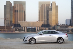 2015 Cadillac ATS Coupe Exterior in Abu Dhabi 017