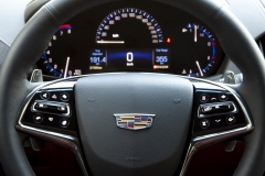 2015 Cadillac ATS Coupe Interior 002 - steering wheel and gauges