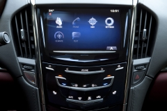 2015 Cadillac ATS Coupe Interior 004 - CUE system home screen