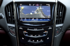 2015 Cadillac ATS Coupe Interior 005 - CUE system navigation