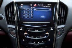2015 Cadillac ATS Coupe Interior 007 - CUE system set PIN for valet model