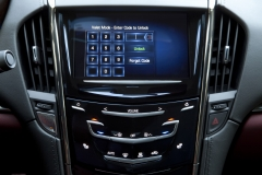 2015 Cadillac ATS Coupe Interior 008 - CUE system enter code to unlock valet mode
