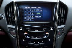 2015 Cadillac ATS Coupe Interior 009 - CUE system enter code to unlock valet mode