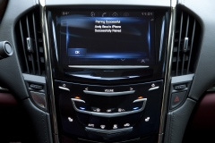 2015 Cadillac ATS Coupe Interior 010 - CUE system phone pairing Bluetooth