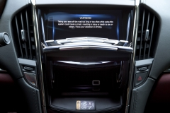 2015 Cadillac ATS Coupe Interior 011 - CUE system open faceplate