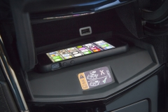 2015 Cadillac ATS Coupe Interior 012 - CUE system wireless inductive phone charging