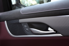 2015 Cadillac ATS Coupe Interior 014 - carbon trim with red accent