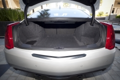 2015 Cadillac ATS Coupe trunk open