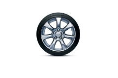2015 Cadillac ATS Sedan 17 inch wheel polished aluminum Q5U