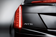 2015 Cadillac ATS Sedan Exterior 013 - taillight focus and ATS badge focus