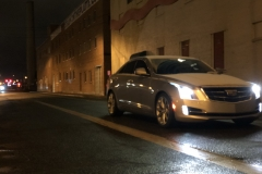 2015 Cadillac ATS Sedan Premium 2.0T Manual - exterior in winter - Alex Luft 001