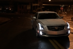 2015 Cadillac ATS Sedan Premium 2.0T Manual - exterior in winter - Alex Luft 002