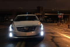 2015 Cadillac ATS Sedan Premium 2.0T Manual - exterior in winter - Alex Luft 003