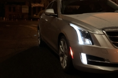 2015 Cadillac ATS Sedan Premium 2.0T Manual - exterior in winter - Alex Luft 004