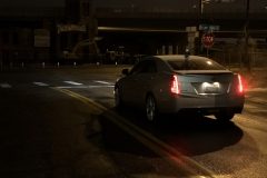 2015 Cadillac ATS Sedan Premium 2.0T Manual - exterior in winter - Alex Luft 011