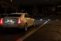 2015 Cadillac ATS Sedan Premium 2.0T Manual - exterior in winter - Alex Luft 012