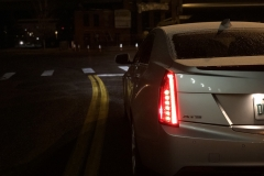 2015 Cadillac ATS Sedan Premium 2.0T Manual - exterior in winter - Alex Luft 013