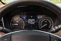 2017 Cadillac XT5 Interior 012 Gauge Cluster
