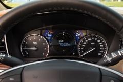 2017 Cadillac XT5 Interior 013 Gauge Cluster