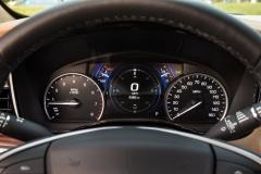 2017 Cadillac XT5 Interior 014 Gauge Cluster
