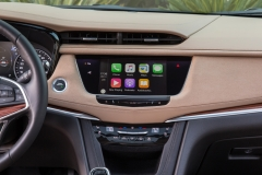 2017 Cadillac XT5 Interior 016 Apple CarPlay