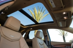 2017 Cadillac XT5 Interior 019 Sunroof