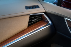 2017 Cadillac XT5 Interior 020 Wood Trim and AC Vent