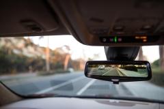 2017 Cadillac XT5 Interior 022 Rearview Camera Mirror