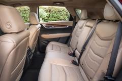 2017 Cadillac XT5 Interior 024 Rear Seat