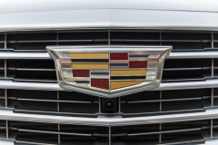 2017 Cadillac XT5 Platinum Exterior 027 Cadillac logo plus front camera