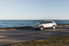 2017 Cadillac XT5 Platinum Exterior 028 driving by water