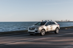2017 Cadillac XT5 Platinum Exterior 029 driving by water