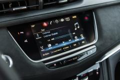 2017 Cadillac XT5 Platinum Interior 021 CUE screen