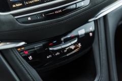 2017 Cadillac XT5 Platinum Interior 022 volume and HVAC controls