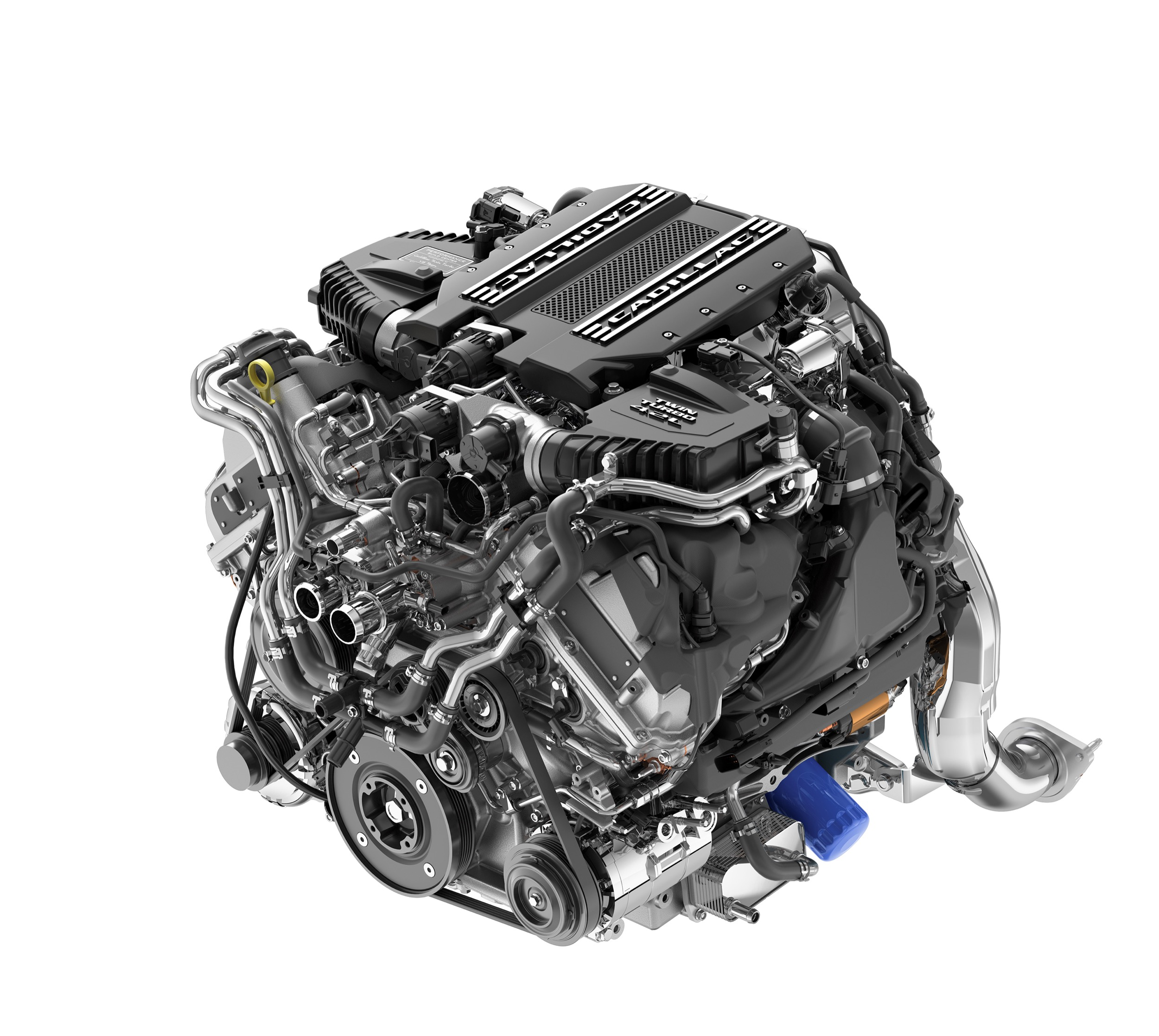 Cadillac 4.2L Twin-Turbo V8 Engine Pictures, Photos, Images