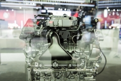 Cadillac 4.2L Twin Turbo V8 DOHC LTA Engine - 2018 New York Auto Show Live 007