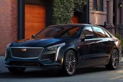 2019 Cadillac CT6 V-Sport exterior 001 front three quarters driver zoom