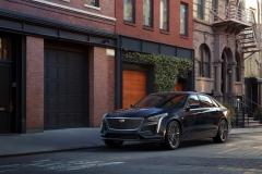 2019 Cadillac CT6 V-Sport exterior 001 front three quarters driver